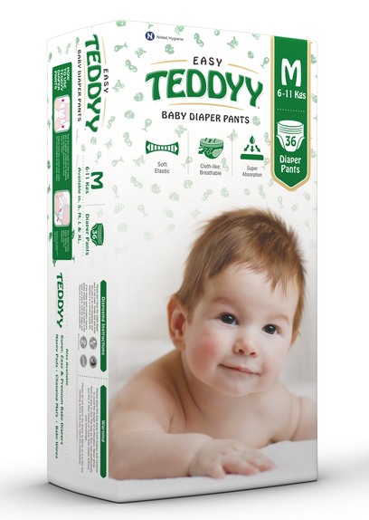 Teddyy Baby Diaper Easy Pants