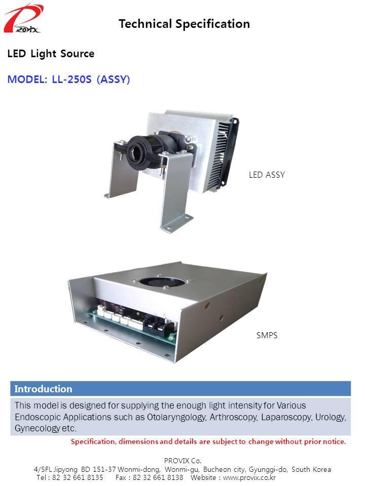 LL-250 SINGLE (ASSY)