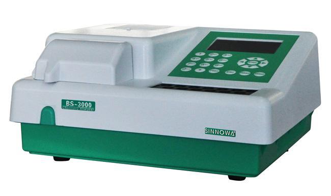 BS3000 Semi-Automatic Chemistry Analyzer