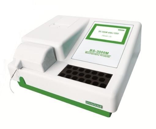 BS3000M Semi Automatic Chemistry Analyzer