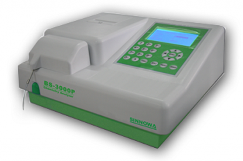 BS3000P Semi-Automatic Chemistry Analyzer