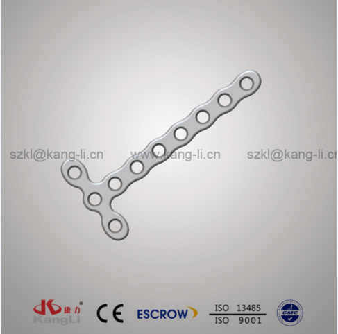 2.7 T-Type Locking Plate