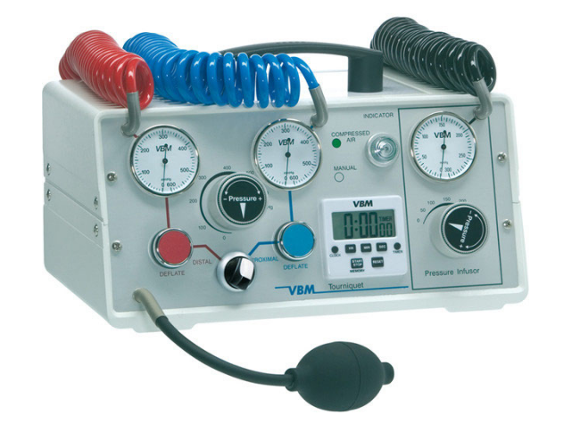 TOURNIQUET 5000, WITH BUILT-IN PRESSURE INFUSOR