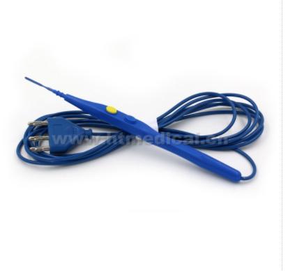 HT-1 ESU pencil with Teflon coated electrode ( non-stick, PTFE )