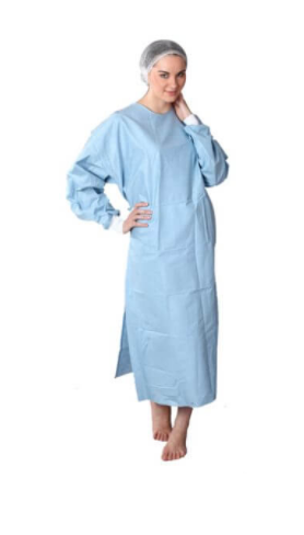 Disposable Gown Closed