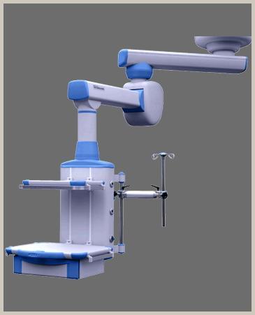 Double arm motorized surgical pendant