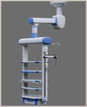 Single arm motorized endoscopy pendant