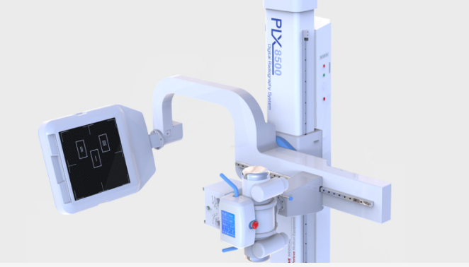 PLX8500EF-500μ (High Frequency Digital Radiography System)