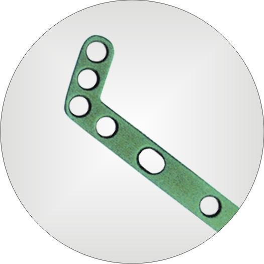 Locking Distal Dorsal Radius L-Plate 2.7