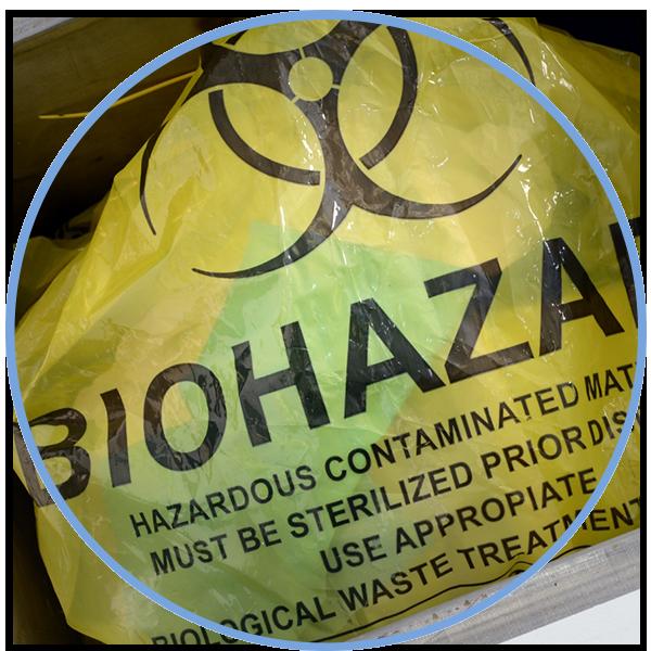 TESABAG : Biohazardous waste bags