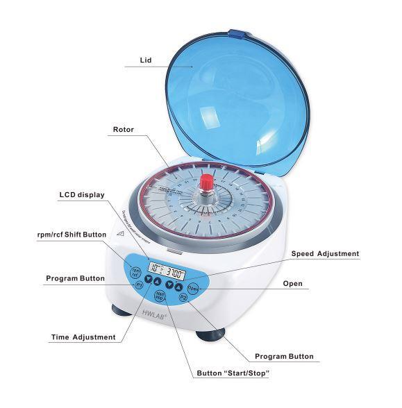 Hematocrit centrifuge