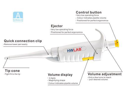 Adjustable volume pipette