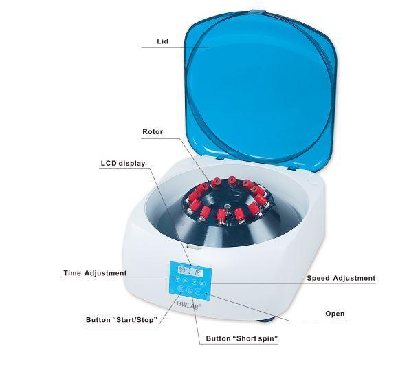 Clinical centrifuge