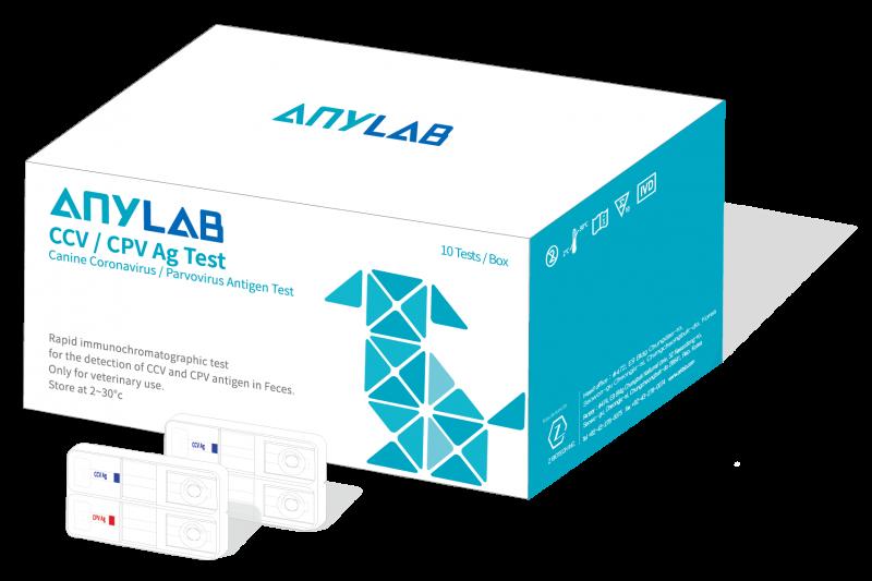 Canine Coronavirus / Parvovirus Antigen (CCV / CPV Ag) Test