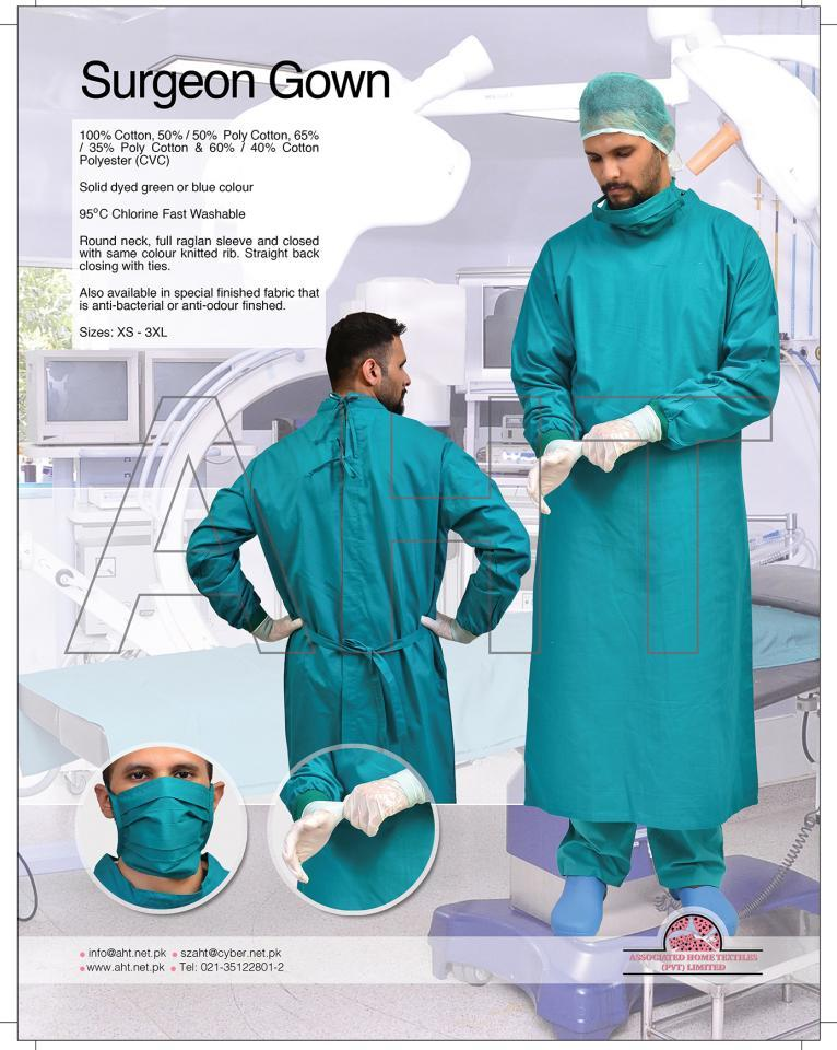 SURGEON GOWN / OR GOWN | ASSOCIATED HOME TEXTILES PVT., LTD.