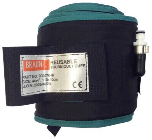 Reusable Tourniquet Cuff - Colour Coded