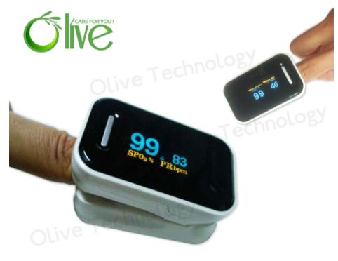 Finger pulse oximeter OLV-80B