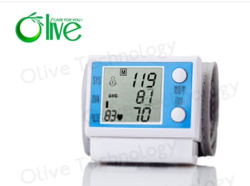 Wrist Blood Pressure Monitor OLV-001