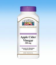 Apple Cider Vinegar - 300 mg - 250 Tablets