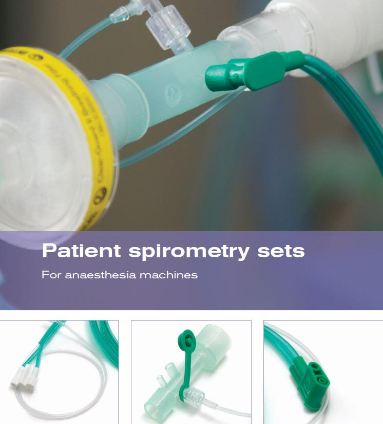 Patient spirometry sets and sensors from Intersurgical