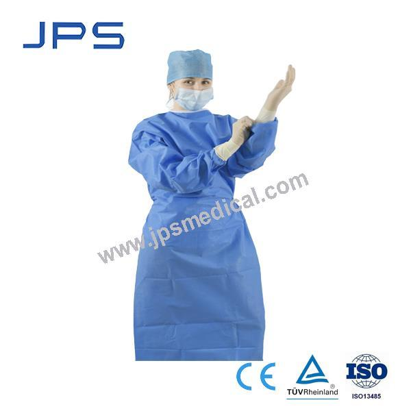 SMS Poly-Reinforced Surgical Gown | Shanghai JPS Medical Co.,Ltd