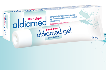 Aldiamed mouth gel - salivary supplement
