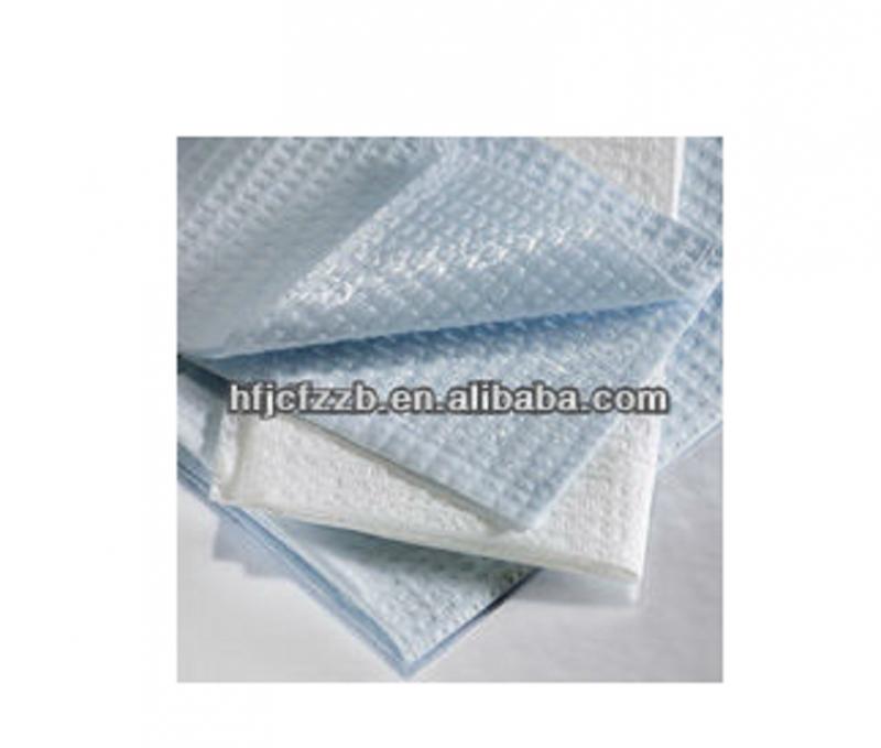Disposable examination table sheet/draw sheet