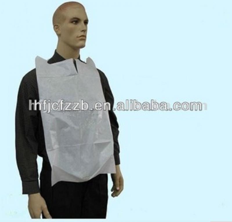 Disposable patient Bib/patient apron for hospital use