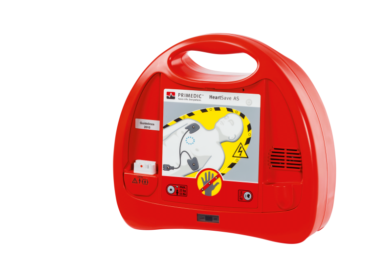 fully automatic external defibrillator / public acess - HeartSave AS