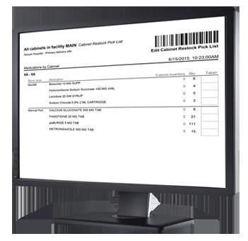 MedShelf-Rx Inventory Management Software | Omnicell