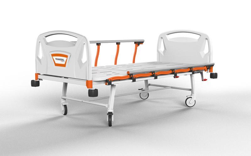 DM 2200THREE ADJUSTMENTS MECHANICAL BEDWITH FOLDABLE LEGS – Trinodal