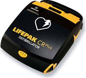 Physio Control Lifepak CR Plus AED Featuring Patented ADAPTIVE Biphasic Waveform