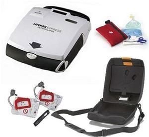 Physio Control Lifepak Express AED Featuring a Low Long-Term Cost of Ownership