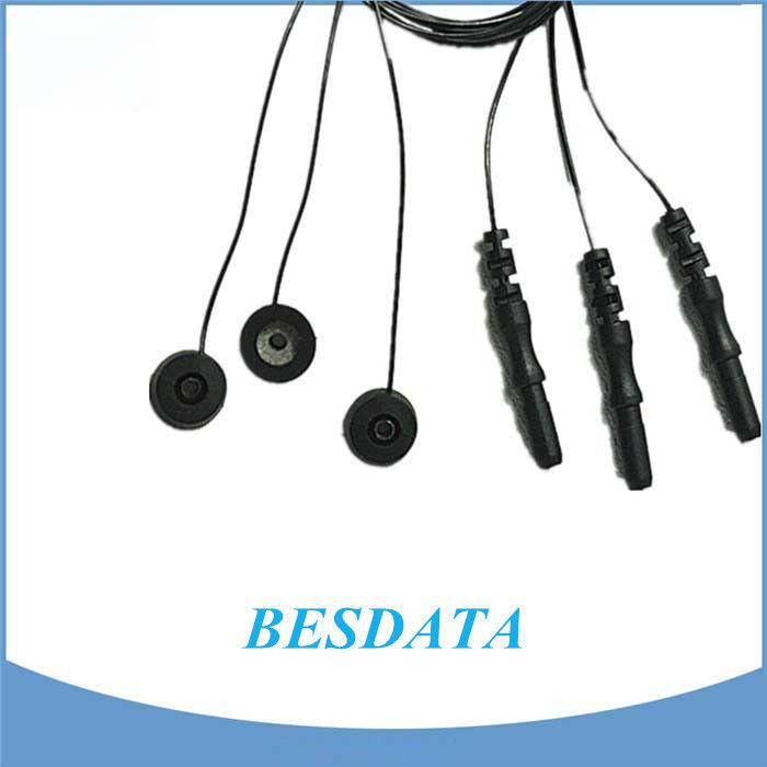 CE Certified Silver / silver Chloride EEG Electrodes For EEG Machine