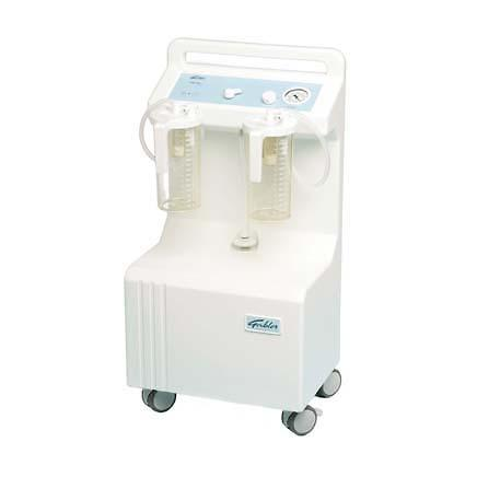 Premier Mobile Electric High Vacuum Theatre Suction Unit with Two 2Ltr Collection Jars.