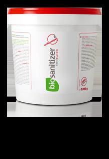 Saniswiss biosanitizer E | eco-friendly sanitizers