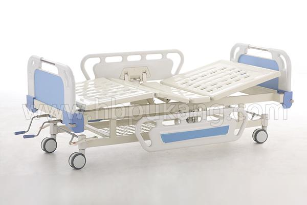 B-5-1 Movable full-fowler Bed With ABS head/foot board(Central Locking)