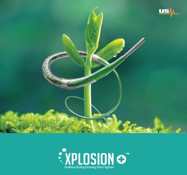 XPLOSION+™ Sirolimus Eluting Coronary Stent System