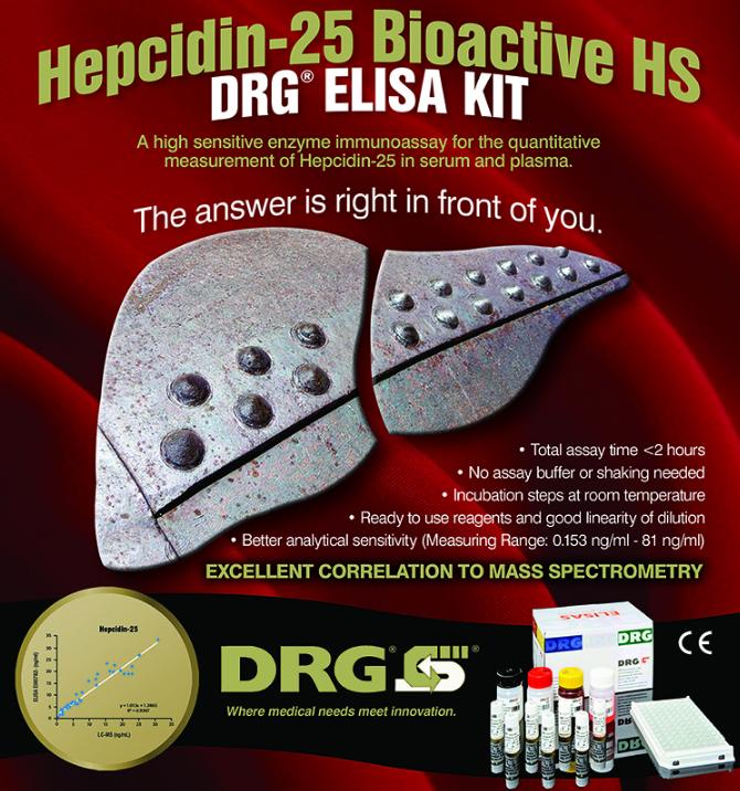 Enzyme Immunoassay for Hepcidin Detection | DRG International, Inc.