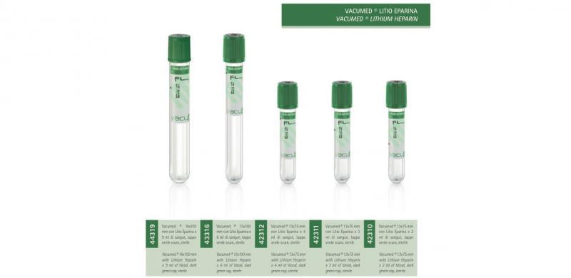 Vacumed® Lithium Heparin - FL MEDICAL