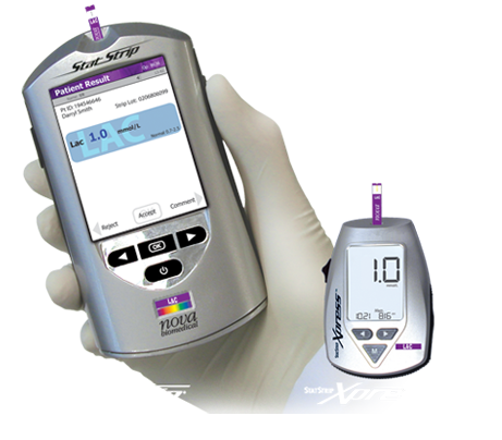 StatStrip® Connectivity and StatStrip Xpress Point-of-Care Lactate Analyzers Nova Biomedical : World Leader in Biosensor Technology
