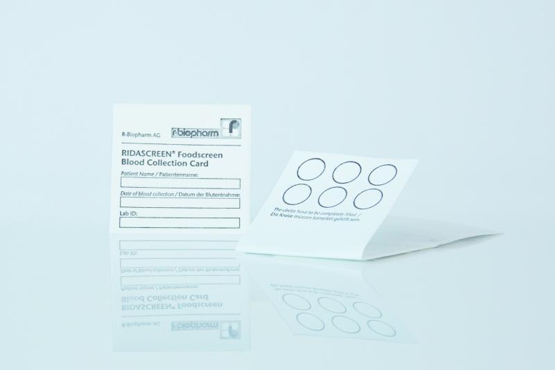 RIDASCREEN® Foodscreen Blood Collection Card (en) - Clinical Diagnostics
