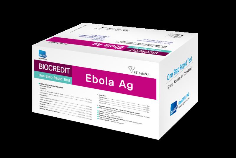 Ebola Ag – RapiGEN