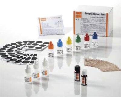 Strepto Group test  - Serology & Bacteriology