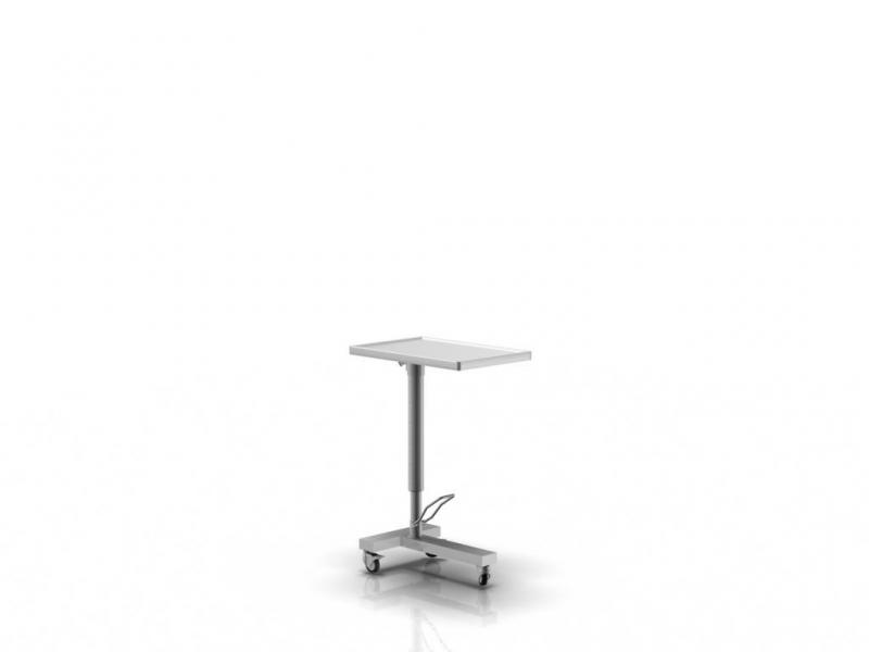 MAYO TABLE FOR SURGICAL INSTRUMENTS  2-001