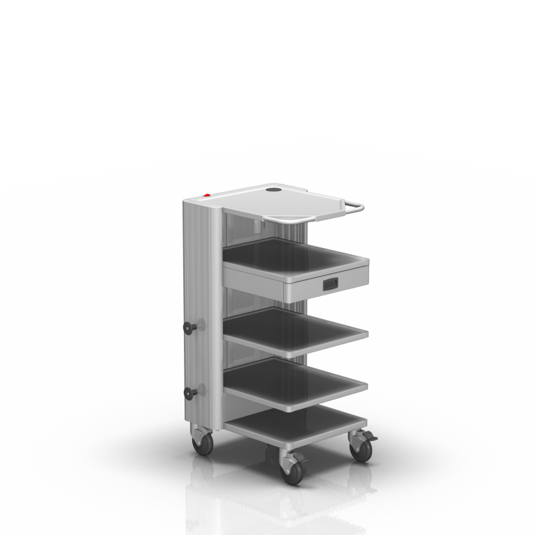 TROLLEY FOR MEDICAL DEVICES 2-572