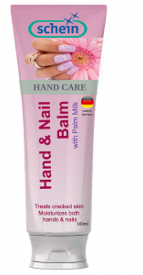 HAND & NAIL BALM WITH PALM MILK