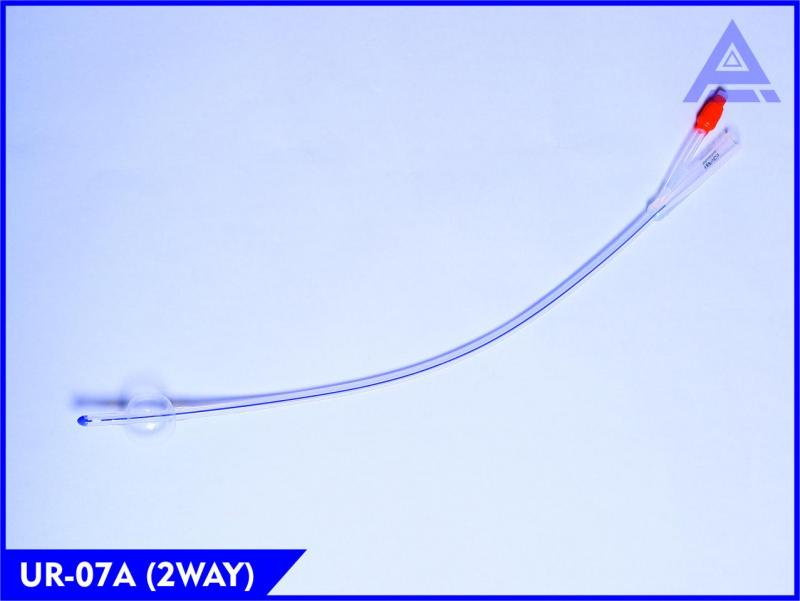 Two Way Latex Foley Balloon Catheter with Pure Silicon Manufacturer in India