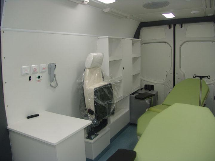 EMS - Mobile Clinic - Mobile Blood Drawing Vehicle