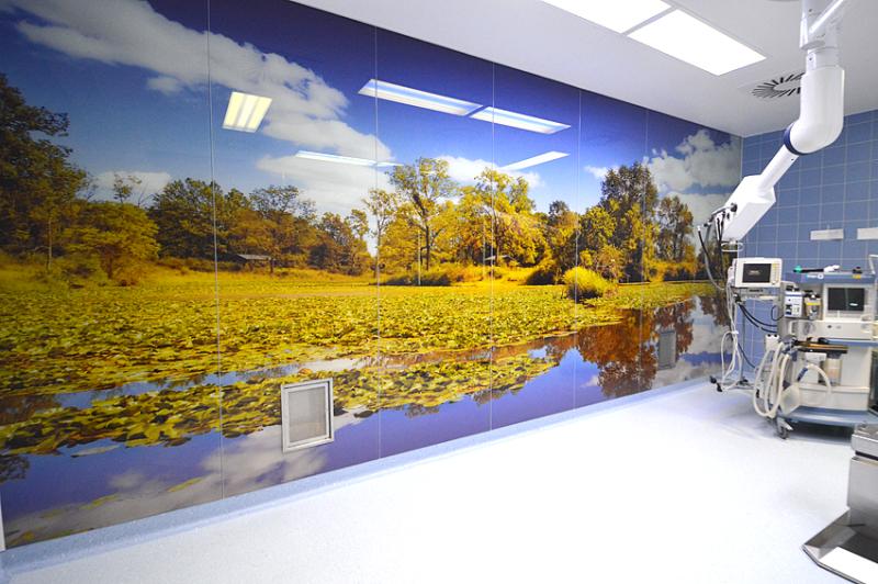 MEDglas® SPECIALS - Motive Walls - Medik Hospital Design GmbH - MEDIK Hospital Design GmbH